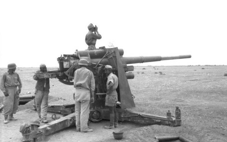 제 2 차 세계 대전 중형 대구경의 독일 대공포