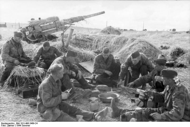 Зенитная артиллерия Германии среднего и крупного калибра во Второй мировой войне