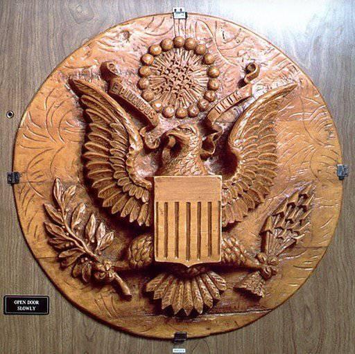 &quot-Златоуст&quot- в американском посольстве. Шедевры русского шпионажа