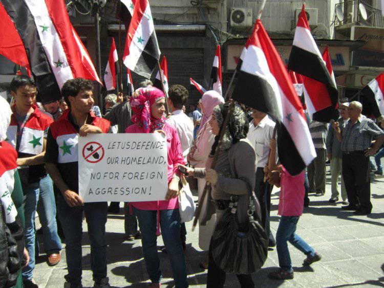 Le speranze e le ansie della capitale siriana