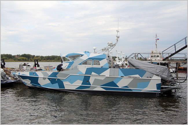 O segundo barco especial Mongoose para a Marinha Russa foi lançado no estaleiro Vympel