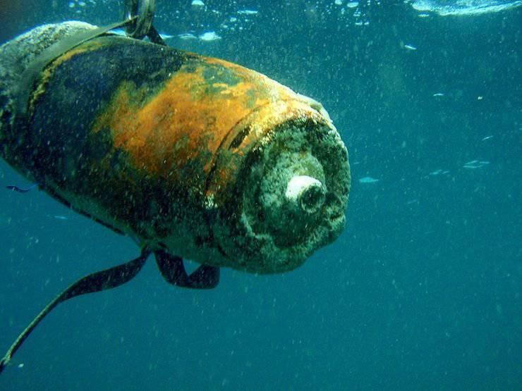 Подводное кладбище химического оружия отравляет Балтийское море