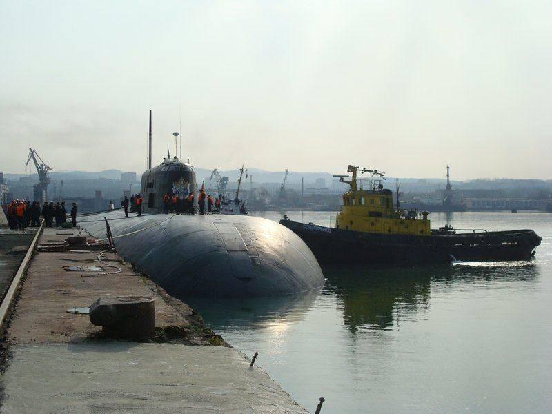 Возгорание на АПЛ «Томск» и его последствия