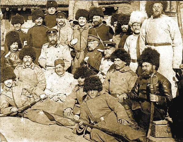 Fuerzas especiales de la Rusia zarista