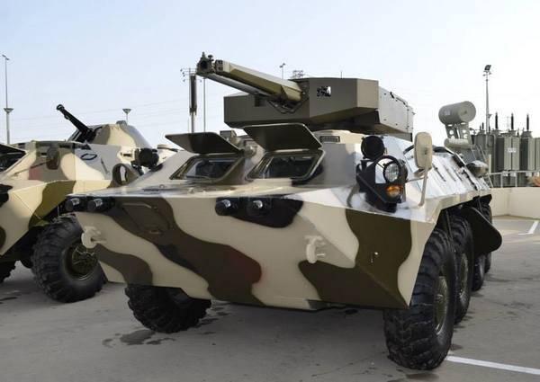 L'Azerbaijan intende promuovere il BTR-70M sul mercato mondiale con il modulo Simsek