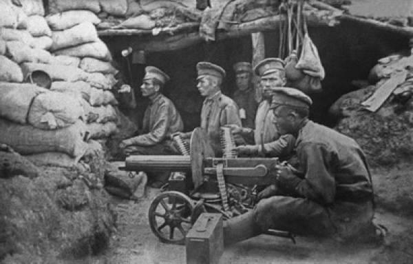 प्रथम विश्व युद्ध में गिर की याद में