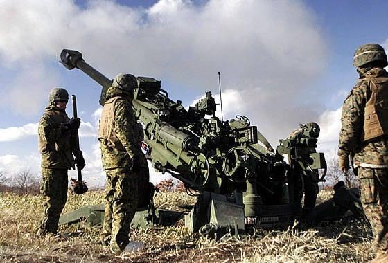 计划购买印度东北部的M-777榴弹炮的成本正在快速增长