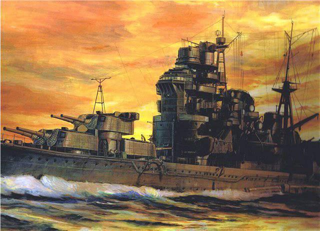 象形文字の「ロイヤルティ」。 日本帝国海軍の大型巡洋艦