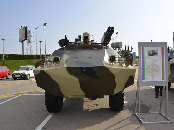 Füze ve topçu keşif aracı: BRDM-2'in modernizasyonunun Azerbaycan versiyonu