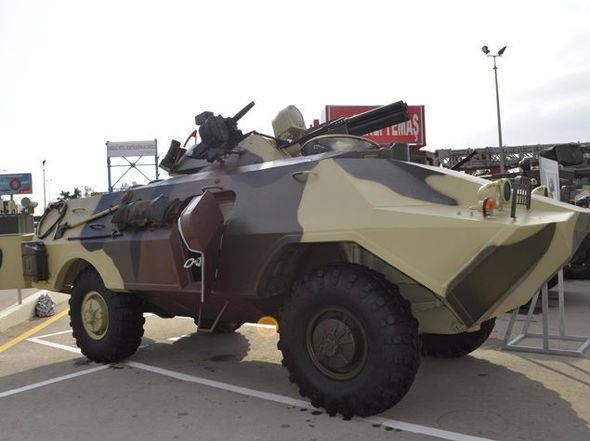 Ракетно-артиллерийская разведывательная машина: азербайджанский вариант модернизации БРДМ-2