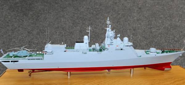Ukrainian military declassified the appearance of the first domestic corvette