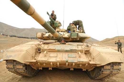 T-90C demonstrou suas capacidades para tripulações de tanques do Peru