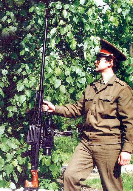 Francotirador y su arma