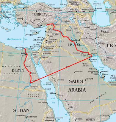 Syrie - gros plan