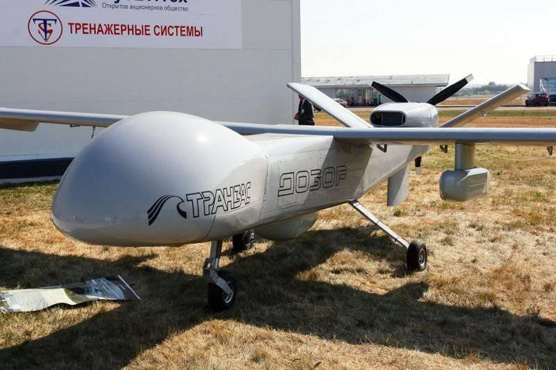 Sergei Shoigu personaliza a los creadores del drone drone ruso