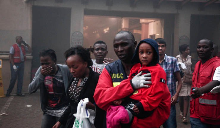 Who benefits from the Kenyan terrorist attack?