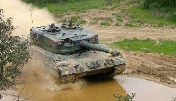 "The first two tanks ""Leopard 2А4"" and two BMP ""Marder"" were delivered to Indonesia"