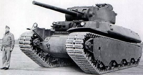 Série de tanques pesados M6