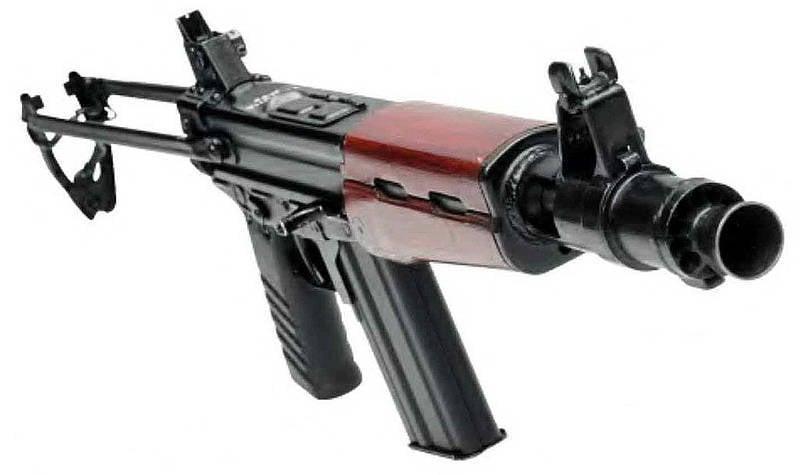 来自Stechkin的PDW(5,45  -  mm紧凑型机器TKB-0116)