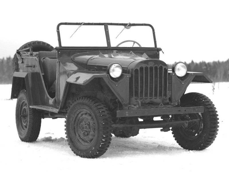 Car-all-terrain vehicle GAZ-67