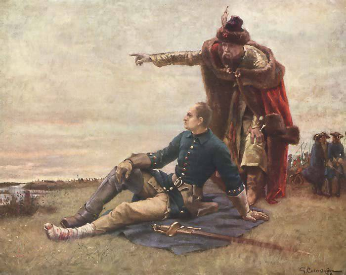 Treason of Mazepa and the pogrom of Cossack liberties by Tsar Peter