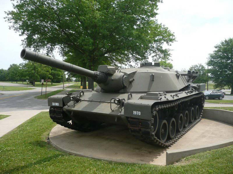 Американский опытный танк XM803 (1971 год)