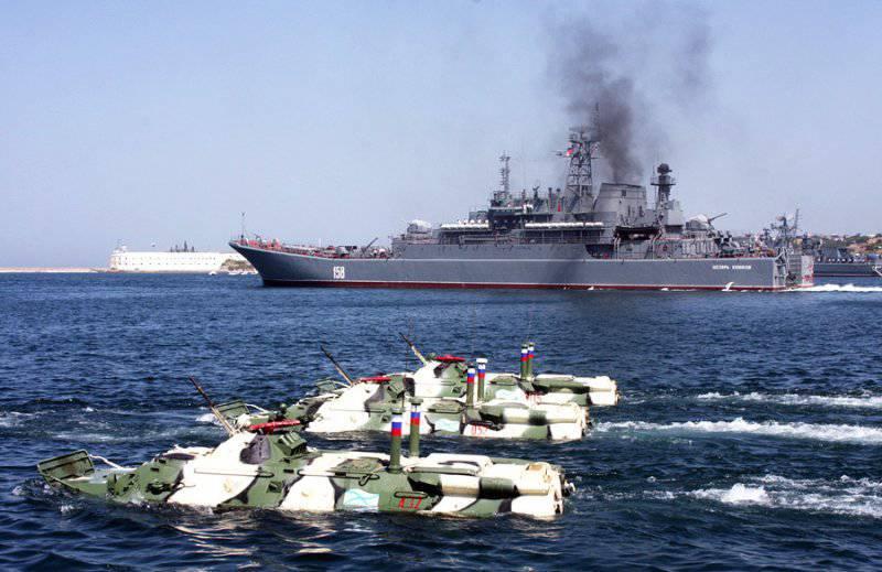 Видео Российский десантный корабль Ямал вошел в Средиземное море и направился в Сирию
