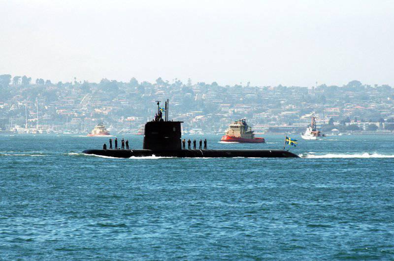 Из варяг в американцы. Зачем США взяли в лизинг шведскую субмарину?