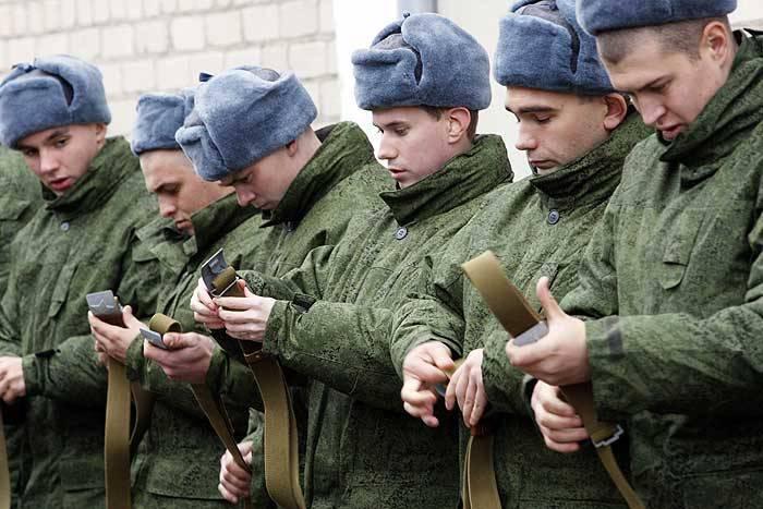 Новинки осеннего призыва в россии