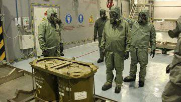Disposal of Syrian chemical weapons