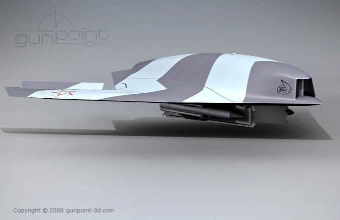 Sukhoi en 2018 presentará un avión no tripulado de tonelaje 20