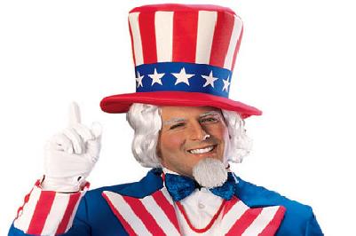미국에는 정치가가 없으며, 한심한 광대가 있습니다!