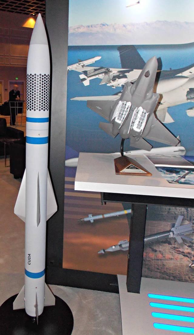予想空対空ミサイルロッキードマーティンCUDA