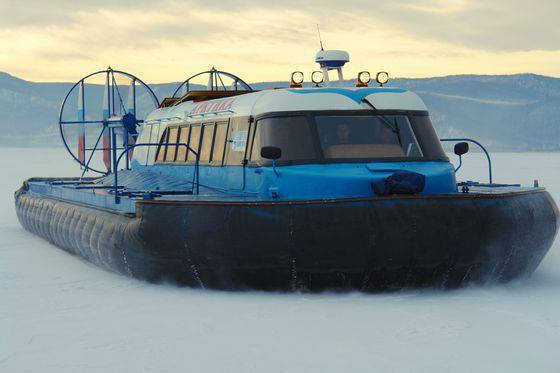 China has received an order for the supply of three all-terrain vehicles on the arctic airbag