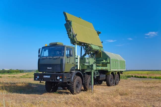 El ucraniano NPK Iskra ha creado un nuevo radar militar.