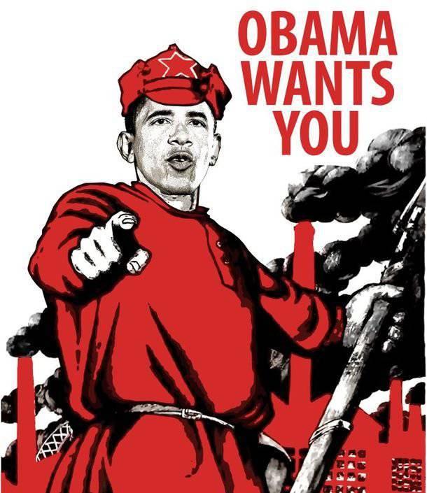 奥巴马的高级军官是否在红军服役? (美国FBII)