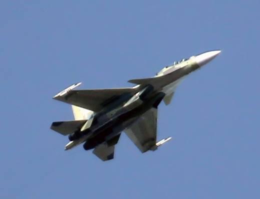 이르쿠츠크에있는 새로운 Su-30SM