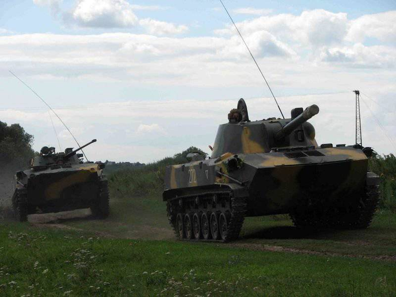 "Airborne will protect armored vehicles with the help of ""Lesochka"""