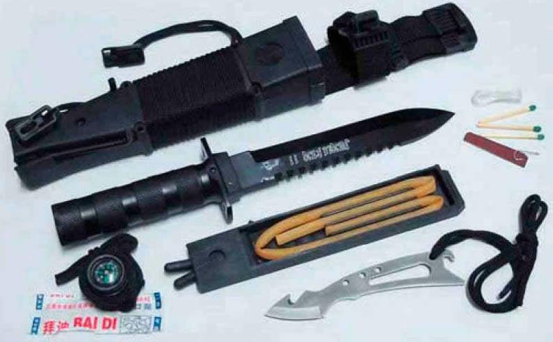 Facas de combate: arma ou ferramenta