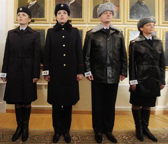 Kolokoltsev a signé un décret sur une nouvelle forme d'officiers du ministère de l'Intérieur
