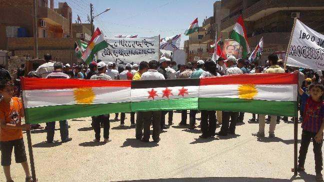 쿠르드족의 카드 : 아사드가 이기고, 에르도 간은 잃는다?