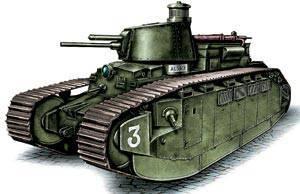 भारी टैंक 2C, फ्रांस, 1921 वर्ष