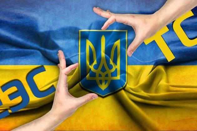 ふたつのうさぎのために...それともウクライナはどのような選択ですか?