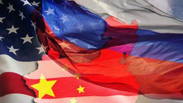 Russie plus Chine moins Amérique