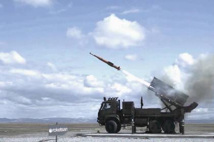 Turkey has tested the new Hisar-A SAM