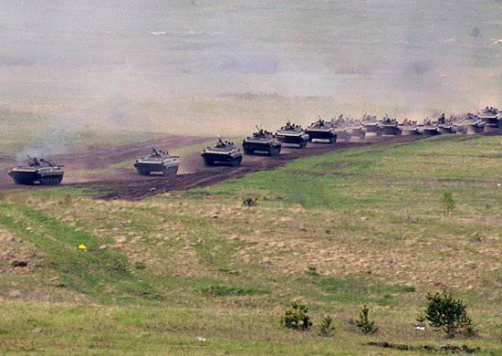 В 2014 году в Сухопутных войсках планируется провести до 600 учений