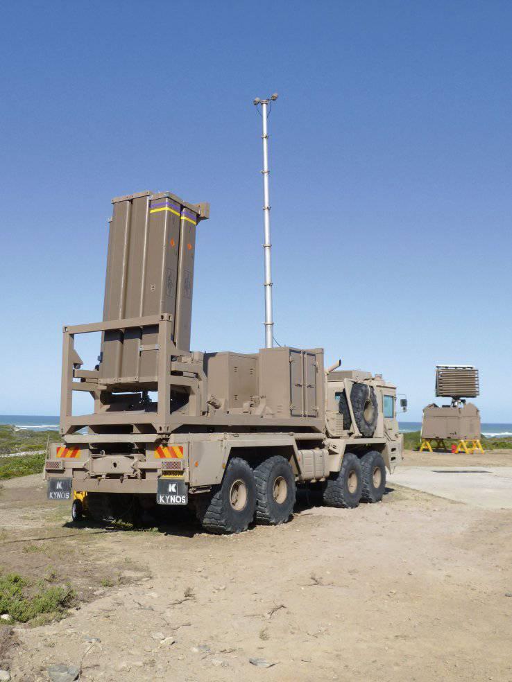 南非开始测试Umkhonto防空系统的土地版本