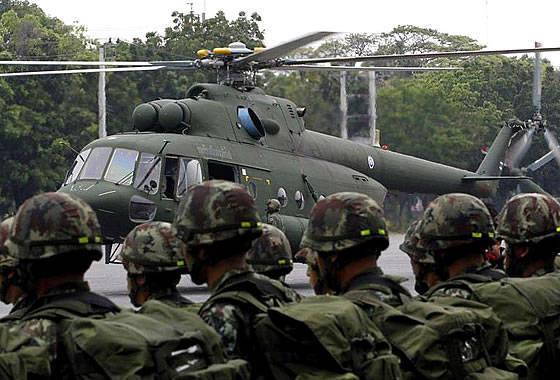 """泰国政府已批准购买额外的直升机Mi-17-5和UH-72A""""Lakota"""""""