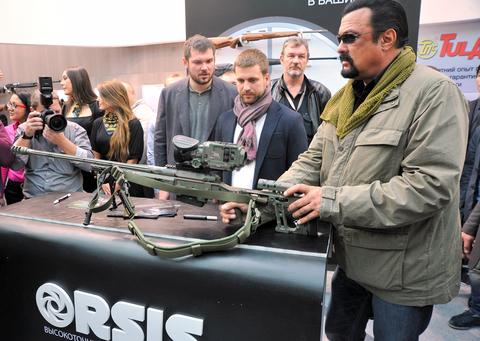 Stephen Seagal llamado rifle ruso