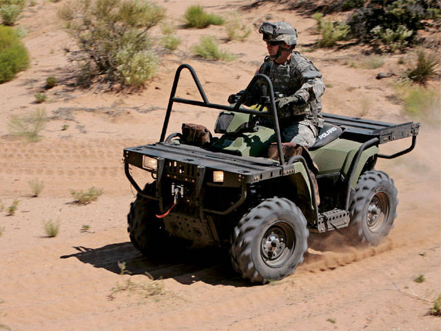 Cross Country Driving (Motorcycles and ATVs in military service)